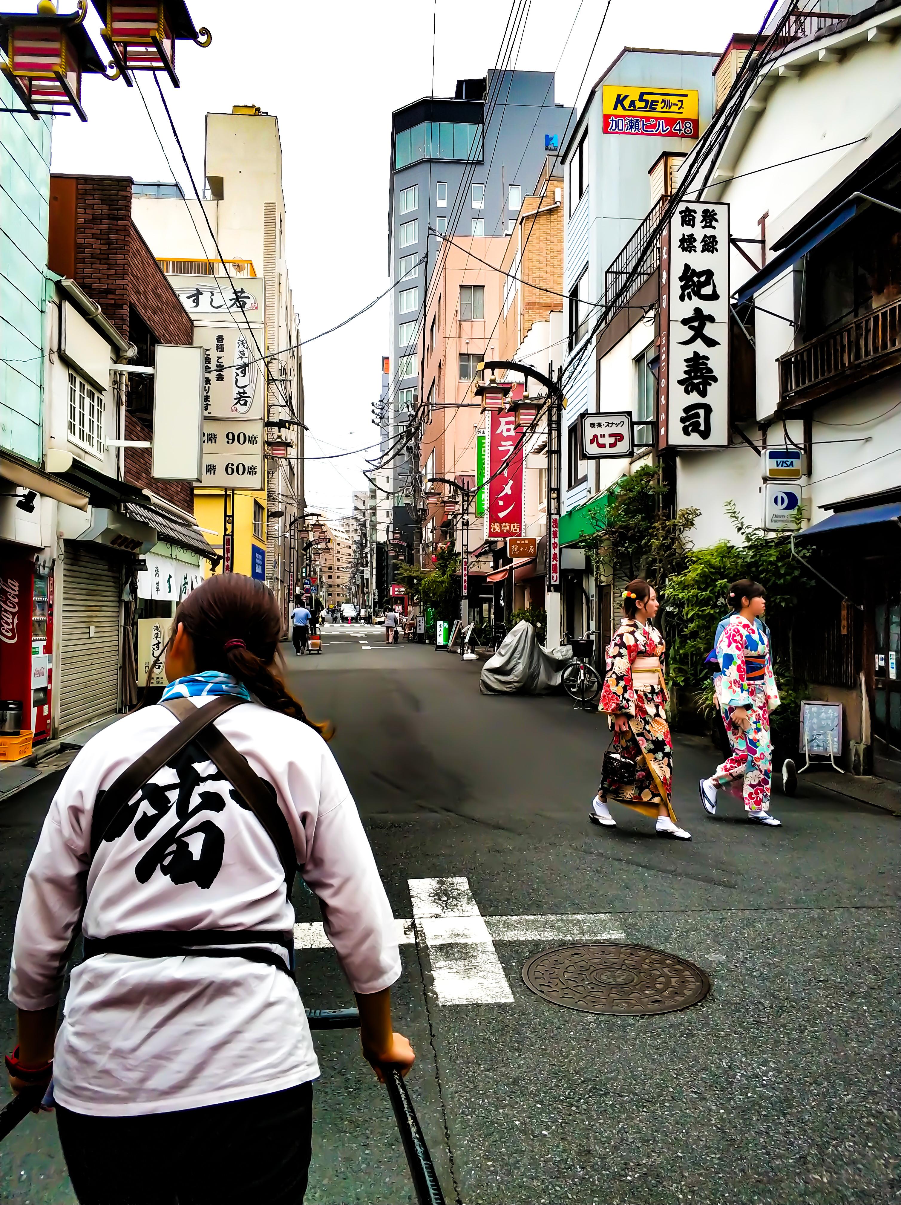 Asakusa y Odaiba